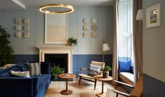 Billing itself as London's first mindful hotel, the 88-room property unfolds over six Georgian townhouses stitched together by Holland Harvey Architects, in a leafy patch of Paddington, to include facilities like a Meditation Pod, Yoga Atrium, a gym with a Peloton indoor cycling bike, and a Clearlight Infrared Sauna. Find A Room, Georgian Townhouse, Library Shelves, Cozy Apartment, Soothing Colors, England, Space Architecture, Eco Friendly House, Room Interior Design