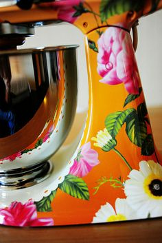 Five words: Hand. Painted. Kitchen. Aid. Mixer.