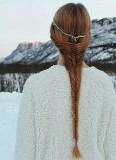 Fairytale Princess Braided Hairstyle