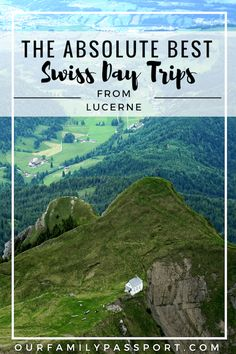 SWITZERLAND DAY TRIPS Ultimate day trips in Switzerland how to best visit the Swiss Alps from Lucerne Mount Pilatus Interlaken Mountain Adventure European Solo Travel. Europe Travel Guide, Travel Guides, Travel Destinations, European Destination, European Travel, Travel With Kids, Family Travel, Switzerland Vacation, Switzerland Interlaken