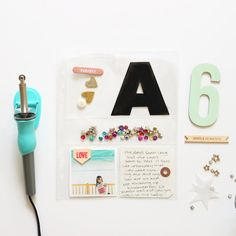 @stephaniebbryan created this beautiful 6×8 custom pocket page using her #WRMKfuse tool. @wermemorykeepers