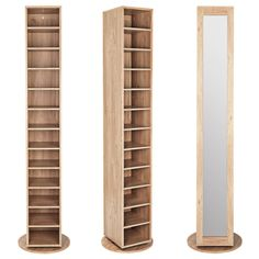 Home Discover Tall Pine Shoe Cabinet with Mirror Door A tall slim solid pine shoe cupboard with a mirrored door. Shoe Storage Argos, Shoe Storage Shelving, Diy Shoe Storage, Diy Shoe Rack, Shoe Storage Cabinet, Door Storage, Shoe Racks, Bedroom Storage, Shoe Cabinet Entryway