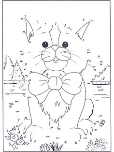 Connect The Dots Coloring Pages - Coloring Home Cat Template, Shape Templates, Templates Free, Math Sorting Activities, Spot The Difference Kids, Dot To Dot Puzzles, Colegio Ideas, Dot To Dot Printables, Wedding Cross Stitch Patterns