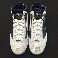 1e91ee9ddf91 eBay  Sponsored Nike Air Max LeBron 7 VII New York Yankees 27th Anniversary  Size 9 RARE