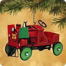 2002 Kiddie Car Classic #9 - Jingle Bell Express Hallmark Ornament | The Ornament Shop