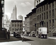 On the corner of Willow and Poplar Street in Brooklyn Heights, New York City