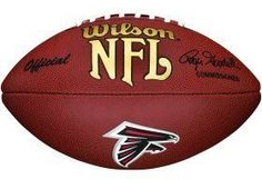 Atlanta Falcons Composite Wilson Football