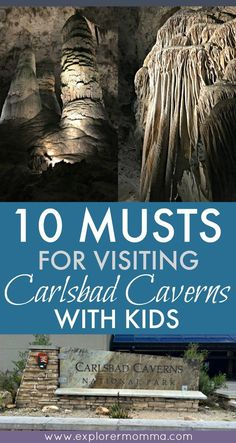 Do you enjoy trips to natural wonders as a family? Visit Carlsbad Caverns with kids and remember the 10 MUSTS that can make or break the trip.