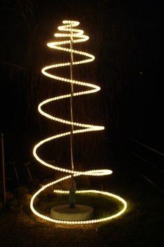 1 van de inzendingen die laten zien wat je met een www.detuinfee.nl Kerst spiraal kunt doen.