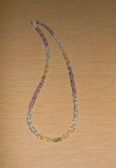 Gemstone Rainbow/Genuine by CreationsbyMaryEllen on Etsy