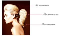 How to Master the 3-Minute Ponytail #Hair