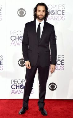 Chris D'Elia attending the 2016 People's Choice Awards. January 2016