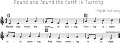 Round and Round the Earth is Turning