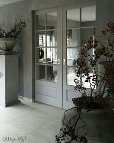 Trendy home rustic vacations French Courtyard, Home Styles Exterior, Trendy Home, Minimalist Living, Rustic Interiors, Bars For Home, Home Bedroom, Windows And Doors, French Doors