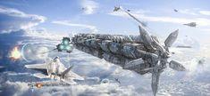 Final Battle, Antonis Karidis on ArtStation at https://www.artstation.com/artwork/final-battle-2bac2d44-618c-4631-8e0a-d0d47e91eee3