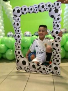 beautiful birthday soccer party theme ideas of 12 2 Soccer Birthday Party Beautiful soccer theme Birthday Party Ideas 2 Of can find Soccer party and more on our website Soccer Birthday Parties, Football Birthday, Soccer Party, Sports Party, Birthday Party Decorations, Birthday Kids, Football Parties, Soccer Ball, Soccer Banquet