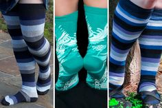 While last week's Sock Journal featured lightweight options for summer, this week's is all about staying psychologically cool, with aquatic colorways!