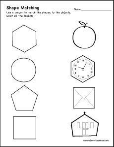 pin by clever learner on shape identification pinterest activities shapes worksheets and. Black Bedroom Furniture Sets. Home Design Ideas