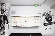 The Karl Collection shop display
