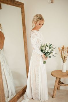 Before you select Grace Loves Lace wedding dress, it is critical that you understand your physique and structure in order to know which bo… Backless Lace Wedding Dress, Wedding Dress Sleeves, Dress Lace, Lace Sleeves, Simple Wedding Dress With Sleeves, Wedding Dress Big Bust, Backless Gown, Wedding Dressed With Sleeves, Lace Longsleeve Wedding Dress