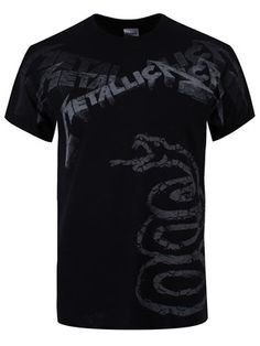 Metallica Black Album Faded Men's All Over Print T-Shirt Metallica Black Album, Heavy Metal Bands, Band Logos, Rock T Shirts, Black Vest, Band Merch, World Of Fashion, Cool Outfits, Lady