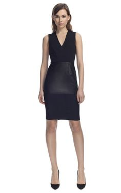 Cedric Charlier V-Neck LBD - I could not love this more!