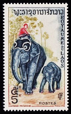 Laos postage. ❣Julianne McPeters❣ no pin limits