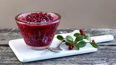 Tyttebærsyltetøy - Lingonberry jam
