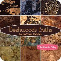 Backwoods Batiks Fat Quarter Bundle Hoffman Fabrics