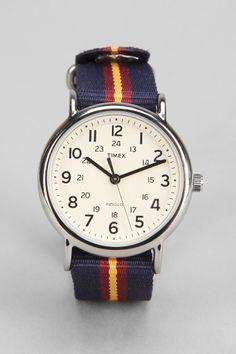Timex Striped Band Weekender Watch