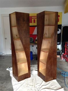 This Father And Son Duo Made The Most Insane Bookshelves