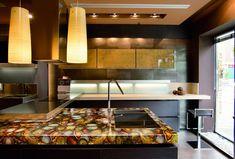 Bellissimi e Particolari Top per Cucine in Diversi Materiali ...