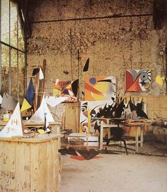 Alexander Calder Home and Studio.. by Old Chum, via Flickr