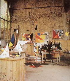 Alexander Calder Home and Studio.