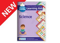 Our Science Key Stage 2 Pocket Posters are a colourful and engaging reference books that are ideal for classwork, homework and revision. Key Stage 2, Biology, Posters, Science, Pocket, Learning, Books, Libros, Studying