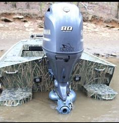 Love the short shaft jet motor, she can run shallow or deep Duck Hunting Boat, Duck Boat, Mud Boats, Lake Boats, Jet Motor, John Boats, Yacht Builders, Flats Boat, Boat Projects
