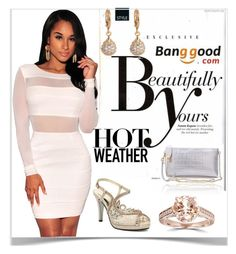 """5#Banggood"" by kiveric-damira ❤ liked on Polyvore featuring Sonam Life and Bliss Diamond"