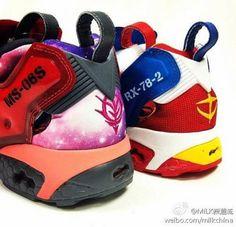 MOBILE SUIT GUNDAM × REEBOK INSTA PUMP FURY #sneaker