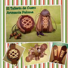 Monedero judas. Sigueme en Facebook.com/El tallerin de cuero. Artesania Paloma