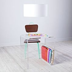 Shop Land of Nod for the widest variety of kids desks. From leaning desks, modern desks and desks with hutches, we've got what you need.