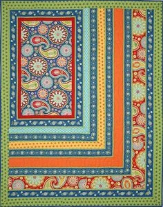 Gypsy, by Michael Miller Fabrics Maybe use my sari fabrics to make a soft baby quilt