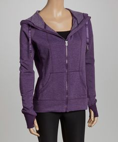 HEAD Blueberry Cordial High Altitude Zip-Up Hoodie | zulily