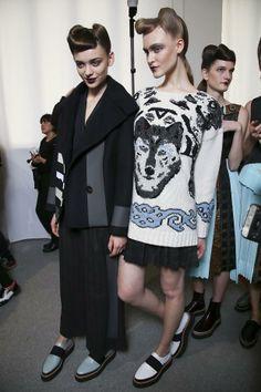 Behind the scenes F/W 2014-15 Womenswear Fashion Show Antonio Marras