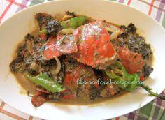 Crabs in coconut milk  - Ginataang Alimasag