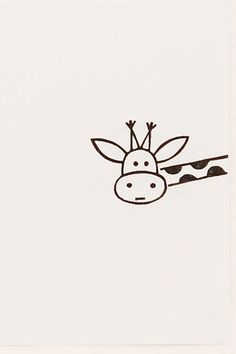 Funny giraffe, cute little drawings, simple cute drawings, cute doodles drawings, easy Easy Drawings Sketches, Mini Drawings, Cool Art Drawings, Doodle Drawings, Simple Sketches, White Board Drawings, Cute Little Drawings, Easy Drawings For Kids, Simple Cute Drawings
