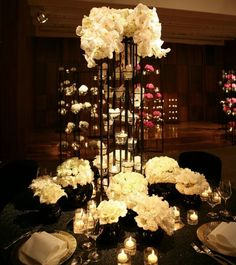 Wedding Centerpiece Ideas: Blooms of Chaos (That Actually Work!). Visit www.modwedding.com for more!