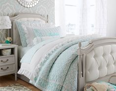 A girls' room with sophisticated, old-world elegance | Pottery Barn Kids