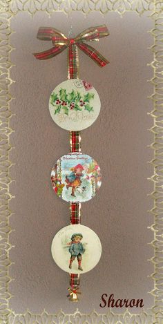 Bohemian Christmas, Christmas Love, Vintage Christmas, Christmas Ornament Crafts, Felt Ornaments, Cd Crafts, Diy And Crafts, Cd Art, Vintage Crafts