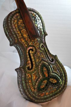 Violin - Shining Star Mosaics  stunning work