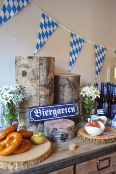 Oktoberfest food You are in the right place about Food Book ideas Here we offer you the most beautiful pictures about the Food Book diy you are looking for. When you examine the Oktoberfest food part 18th Party Themes, Fall Party Themes, Theme Ideas, Dinner Themes, Party Ideas, Oktoberfest Decorations, Beer Party Decorations, Wedding Decorations, Octoberfest Party